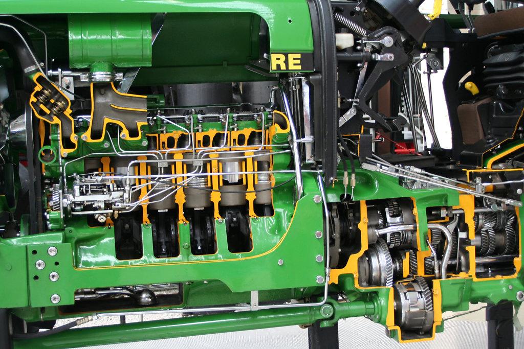 Innenraum Traktor