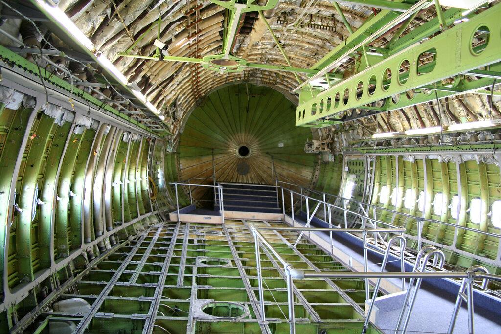innenraum Boeing 747I